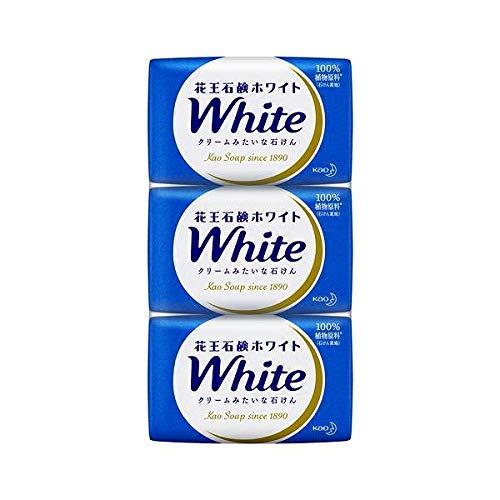 花王 ホワイト石鹸 レギュラーパック 3コ入