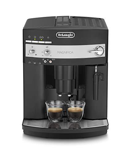 DeLonghi Magnifica ESAM3000B Maquina de Espresso, 1350 W, 1.8 Litros, Acero Inoxidable, Negro 36x38x29cm
