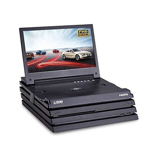 Der 11,6-Zoll HDR FHD 1080p mobile augenschonende Gaming-Monitor für die PS4 Pro (gehört nicht zum Lieferumfang) von G-STORY mit FreeSync, HDMI-Kabel und integrierten Multimedia-Stereo-Lautsprechern