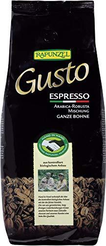 Rapunzel Bio Gusto Espresso allitaliana ganze Bohne HIH (2 x 1 kg)