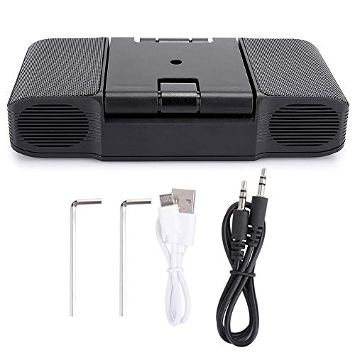 TIANYOU Power Bank Heavy Bass Bluetooth Speaker, Tablet Pc for Mobile Phone Lossless Sound Quality/Black