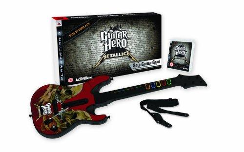 """Pack """"Guitar Hero: Metallica"""" con Guitarra [PS3] [PlayStation 3] [Producto Importado]"""
