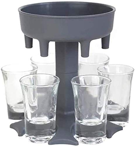 6 Schnapsglasausgießer Und -halter, Caddy-Alkoholspender Zum Befüllen Von Flüssigkeiten Weinglasspender Aus Kunststoff Kunststoff-Bierspender, Einfaches Elegantes Spenderwerkzeug Für Den Urlaub Einf