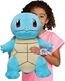 Pokemon Squirtle Giant Plush, 24-Inch - Adorable, Ultra-Soft, Life Size Plush Toy, Perfect for Playing & Displaying - Gotta Catch 'Em All