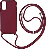 1stfee Compatible con Funda para Samsung Galaxy Note 9 teléfono móvil con cordón Gel de sílice TPU Diseño de Protección Anti-Shock Cover.