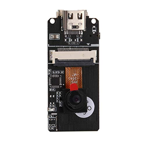 Cobeky M5Stack ESP32 Camera Module, OV2640 2 Mega Pixels Camera 1632 1232 UXGA, With Type C Port and 3D WiFi Antenna, Camera Board for, Raspberry Pi 3B/3B+ and Pi 2B B+ IOT