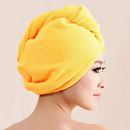 ShenyKan Superfine Fibre De Bain Cheveux Chapeau Sec Chapeau De Douche Doux Forte Absorbant L'eau À Séchage Rapide Tête Tête Serviette Cap Chapeau Pour Le Bain