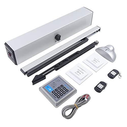Apertura automática de puerta eléctrica, mando a distancia y pulsador, motor de...