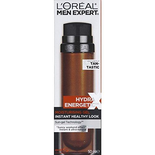 L'ORÉAL Paris Men Expert - Hydra Energetic X Flash Bronzer, sans autobronzant - Le Flacon de 50ml - (pour la quantité Plus Que 1 Nous Vous remboursons Le Port supplémentaire)