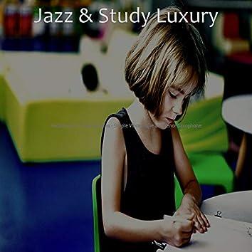 Backdrop for Virtual Studies - Simple Vibraphone and Tenor Saxophone