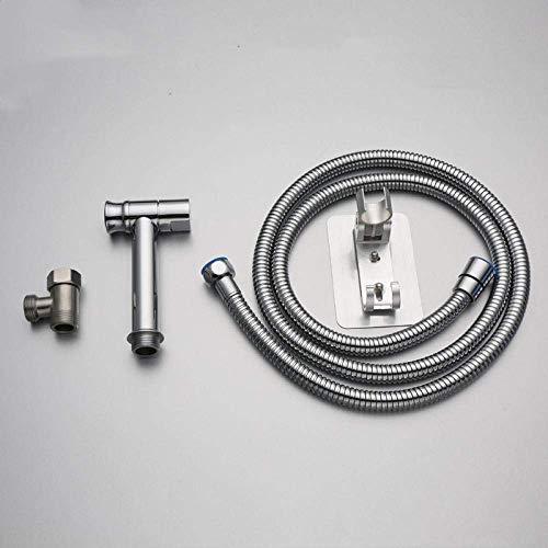CENPEN Kit de rociador de inodoro de bidé de mano – Pistola de pulverización de inodoro de cobre Set de bidé de lavado de boquilla rociadora de bidé