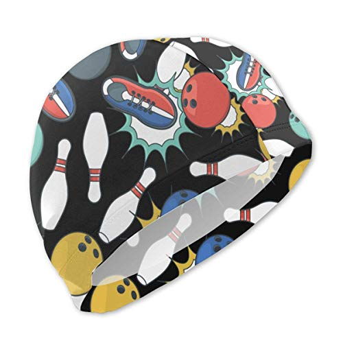 Quintion Robeson Bowlingschuhe Badekappe für Kinder Badeanzug Wasserdicht