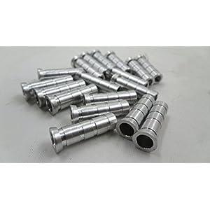 24Pcs Arrow Inserts Point 6.2mm Aluminum Pin for Carbon Aluminum Fiberglass Arrow Archery Arrows Parts Accessory