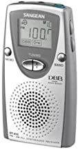 Sangean DT-210 Portable Radio Tuner - 30 Presets - Built in Speaker