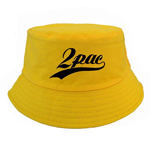 liqun Rap Singer 2Pac Bucket Sombreros Moda Snapback...