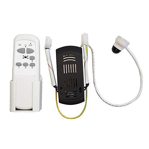 EDM 00973 Recambio Kit Ventilador Techo para 33988/33989/33806/33807/33803 Mando y Receptor, Multicolor