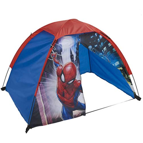 Exxel Kids Spiderman No Floor Dome Tent, Multi, One Size