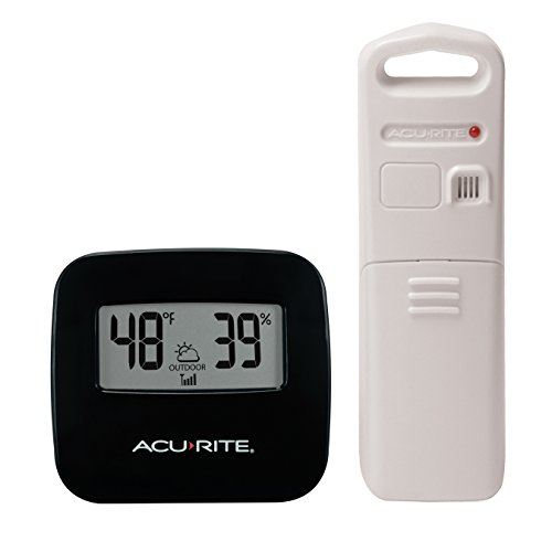Price comparison product image AcuRite 02097M Wireless Indoor / Outdoor Thermometer with Humidity Sensor