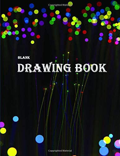 Blank Drawing Book: 110 Pages, 8.5' x...
