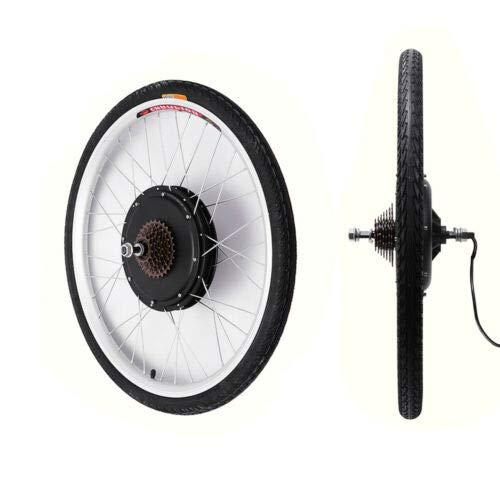 Kit de Conversión de Bicicleta Eléctrica 48V 1000W 28'' Kit de Conversión de Bicicleta para Rueda Trasera DIY Electric Bike Conversion Kit