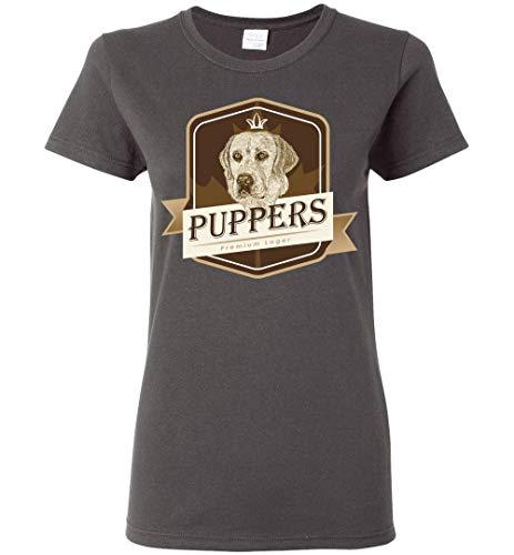 Puppers Premium Lager - Ladies Tee (3XL) Dark Heather