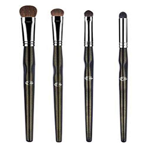 SKYyao Pinceaux De Maquillage Pour Les Yeux 4Pcs Ensemble De Pinceaux à PaupièRes Ombre à PaupièRes