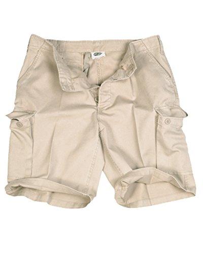 Mil-Tec BW Pantalons Moleskin Bermuda, Beige - Beige, 36