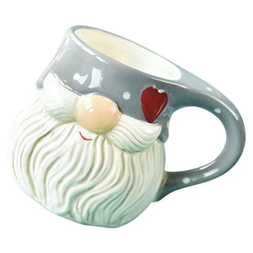 WYDM Taza de café de Navidad Taza de café de gnomo Tazas de café Divertidas Cumpleaños Mujeres Relleno de Bolsa de obsequio de Navidad
