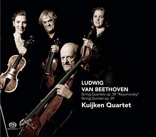 Beethoven: String Quartets Op 59 / String Quintet 29