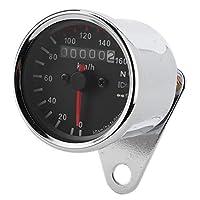 オートバイの速度計、正確なリアルタイムの走行距離のオートバイの計器、女性のための軽量の内蔵小型走行距離計の男性