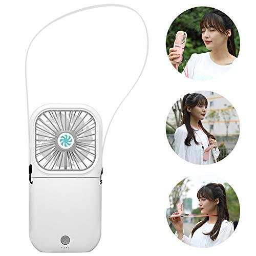 GAYBJ Ventilador de Mano Ventilador de Mesa USB portátil Mini Ventilador Tabla Plegable Ventilador de Escritorio Mano 3 Velocidades batería Recargable Ventilador con eléctrico,D