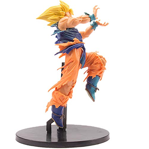Dragon Ball Z Actions Figures DBZ Shock Wave Son Goku Figure Battle Damaged Version Statue Figurine Model Doll Collection Birthday Gifts PVC - 8.7 Inch