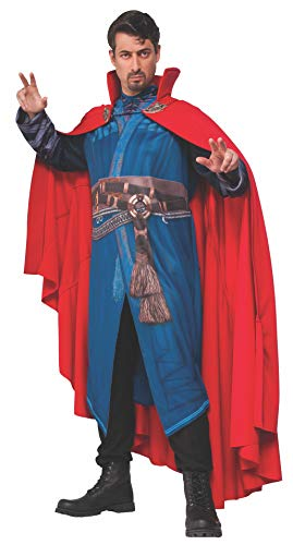 Rubie's mens Doctor Strange Economy Cloak of Levitation Adult Sized Costumes, Red, One Size US
