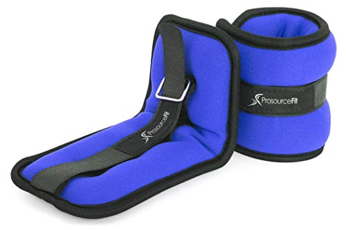 ProsourceFit Ankle Wrist Weights 3 lb. - Blue