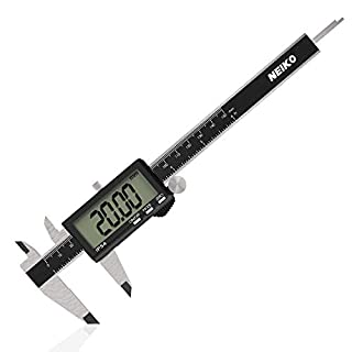 Neiko 01401A Electronic Digital Caliper with Extra Large Oversized LCD Screen, 0-6 Inches | Inch/Fractions/Millimeter Conversion (B076DS19WQ) | Amazon price tracker / tracking, Amazon price history charts, Amazon price watches, Amazon price drop alerts