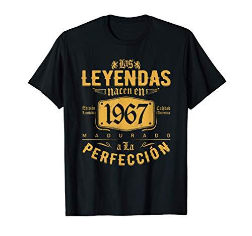 Las Leyendas nacen en 1967 - Regalo de 54 años hombre mujer Camiseta