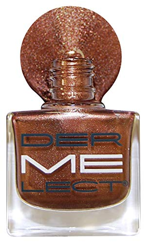 DERMELECT COSMECEUTICALS 'ME' Peptide-Infused Nail Lacquer, Stunner, 0.4oz, 0.4 Ounce