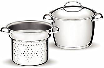 Jogo Cozi-Pasta com Fundo Triplo 2 Peça Tramontina Inox