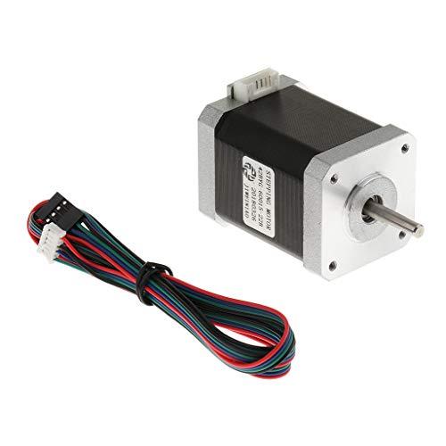 kesoto 1 Pieza Motor De Impresora 3D Portátil Duradero Partes Bricolaje Accesorio Eléctricos
