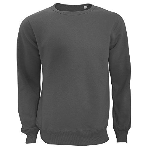 Active by Stedman - Sweatshirt - Homme (2XL) (Gris Sombre)