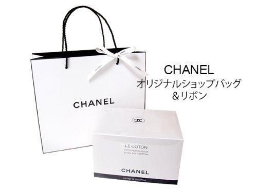 CHANEL(シャネル) LE COTON オーガニックコットン 100枚入 ショップバッグ付き B00ECL1K3O 1枚目