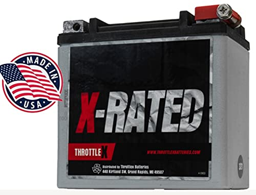 HDX14L - Harley Davidson Replacement Motorcycle Battery