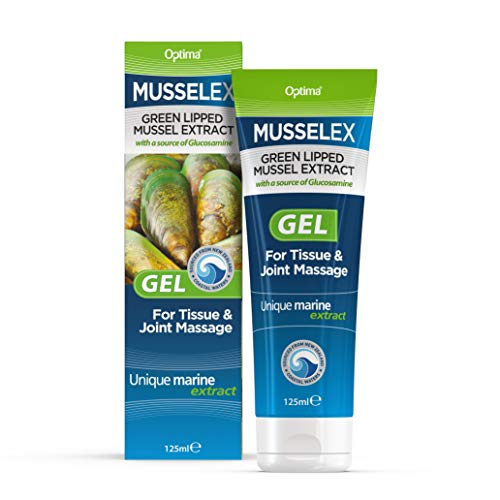 Optima Musselflex Gel for Joint Care 125ml (Pack of 3)