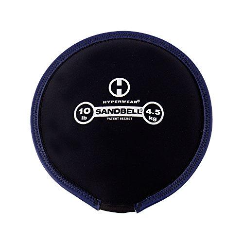 Hyperwear SandBell Sandbag Training Free Weight (Pre-Filled) (10)