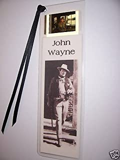 JOHN WAYNE Rare Movie Memorabilia Film Cell Bookmark
