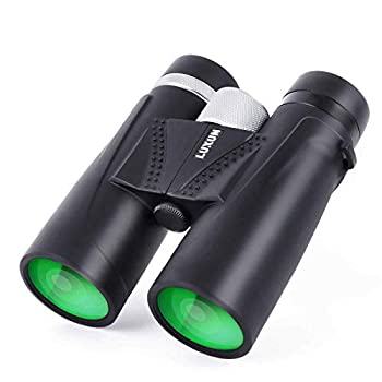 12 x 42 Binoculars for Adults HD Professional Compact Weak Light Vision Binoculars for Bird Watching Hunting Outdoor Sports Black
