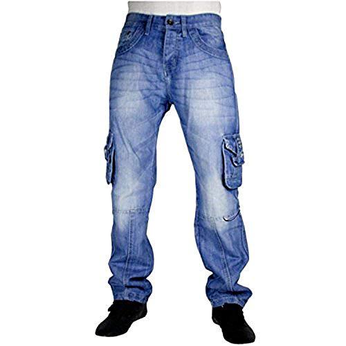 Peviani -  Jeans - Uomo Stone Wash Blue 30W/33L