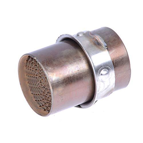 LeoVince ER-6N ABS ER650E 12-16 - Catalizador de tubo de escape, 50 mm de diámetro
