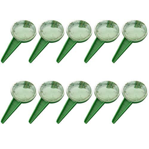 ZUNBO Juego de 10 Dispensadores de Semillas Sembradora Esparcidor de Semillas Herramienta de jardinería para Adaptarse a 5 Varios tamaños de Semillas Ajustable