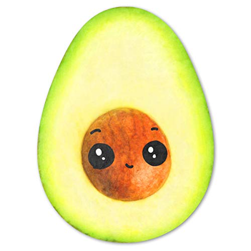 Avocado Blanket,Cute Cartoon Fruit Food Blankets,Avocado Plush Blanket for Kids and Adult,Soft and...